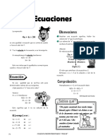 IV BIM - 2do. Año - ALG - Guía 1 - Ecuaciones