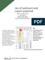 Properties of Sediment Particles