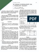 1980_Vermeulen_The Effect of Sodium Hidrosulfito