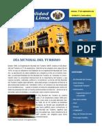 Boletín de Setiembre - Subgerencia de Turismo