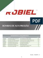 Catálogo Robiel Bombas Alta Pressão CP3