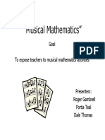 Musical Mathematics