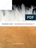 Pauline Wakeham-Taxidermic Signs_ Reconstructing Aboriginality-Univ of Minnesota Press (2008)