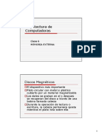 Arqui Compu(Clase6)Memoria Externa