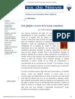 Flores de Nieve, Revista de Estudiantes y Profesores de Español