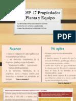 NICSP-17 Maria Medina