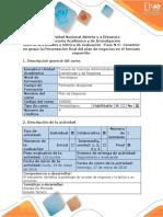 Guia de Actividad y Rúbrica de Evaluación - Fase 6 - Construir en Grupo La Presentacion Final Del Plan de Negocios en El Formato Requerido