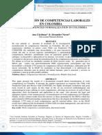 Normalizacion Competencias en Colombia