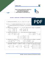 Guía de Ejercicios. Unidad I - 1er Parcial