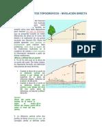 Levantamientos Topograficos -Nivelacion Directa