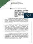 Nota Técnica do Ministério Público do Trabalho