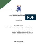 Teoria Geral do Estado - UEFS - Fichamento