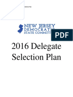 2016 Nj Democratic Delegate Selection Plan