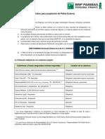 Requisitos para aceptación de Póliza Externa.pdf