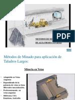2-Métodos Explotación Taladros Largos