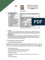 SÍLABO-2018 -1 Estabilidad de Taludes Uancv