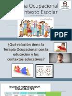 Terapia Ocupacional en Contexto Escolar