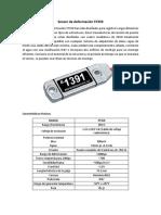 Sensor de Deformación ST350