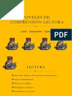 Niveles de Comprensión Lectora (1)