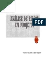 GestProj Analise de Riscos Em Projetos Bahia