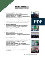 Reporte Semanal en Psicología educativa