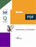 Programa de Filosofía II