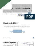 1.1 Conceptos de Filtros - 1.2 Filtros Pasa Bajos RC