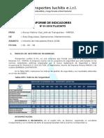 Informe de Indicadores Enero - 18