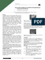 V STA p82-Síntesis de Micro-nanorods de Óxido de Hafnio Por El Método de Precipitación Por Evaporación Del Solvente