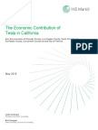 Tesla Economic Footprint Report Final