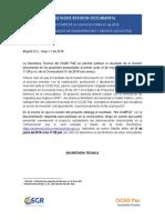 Resultados 1er Corte - Revisión Documental de La Convocatoria