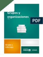 3. Grupo y Organizaciones