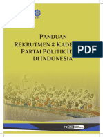 2. Panduan Rekrutmen Dan Kaderisasi Parpol Ideal_FINAL