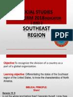 6th Social Studies Southeasth Region PPT