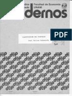 (1987) Clasificación de plusvalor (CUADERNOS DEP-FE UNAM)