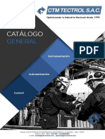 Catálogo Ctm Tectrol 2018