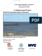 Draft Environmental Impact Statement of Northeast Supply Enhancement of Transco Pipeline
