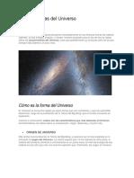 Características Del Universo
