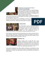 Tradiciones de Guatemala 10 y Costumbres