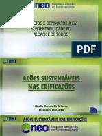 Ações Sustentáveis nas Edificações