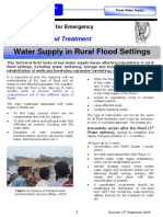 GWC Rural Floods Water Supply Briefing