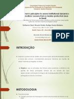 Apresentação Artigo Using Ostrom's Principles