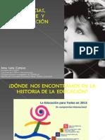 Anna Lucia Campos, PY 1, Neurociencias Aprendizaje y Neuroeducación