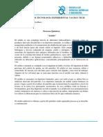 Informe Asfalto
