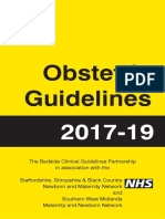 Obstetric Guidelines 2017