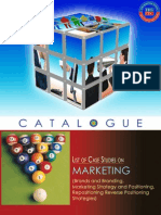 Marketing Case Studies Catalogues
