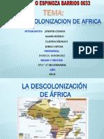 Descolonizacion Africa