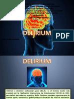 Delirium Psicopatologia
