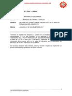 INFORME N°5 LAB. TECNOLOGIA DEL CONCRETO, PESO ESPECIFICO Y ABSORCION DE AGREGADO FINO.docx