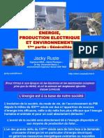 Energie Production Électrique Et Environnement